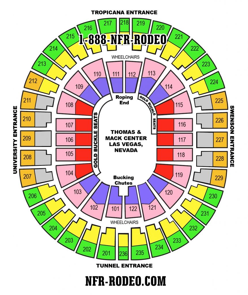 Nfr Seating Chart