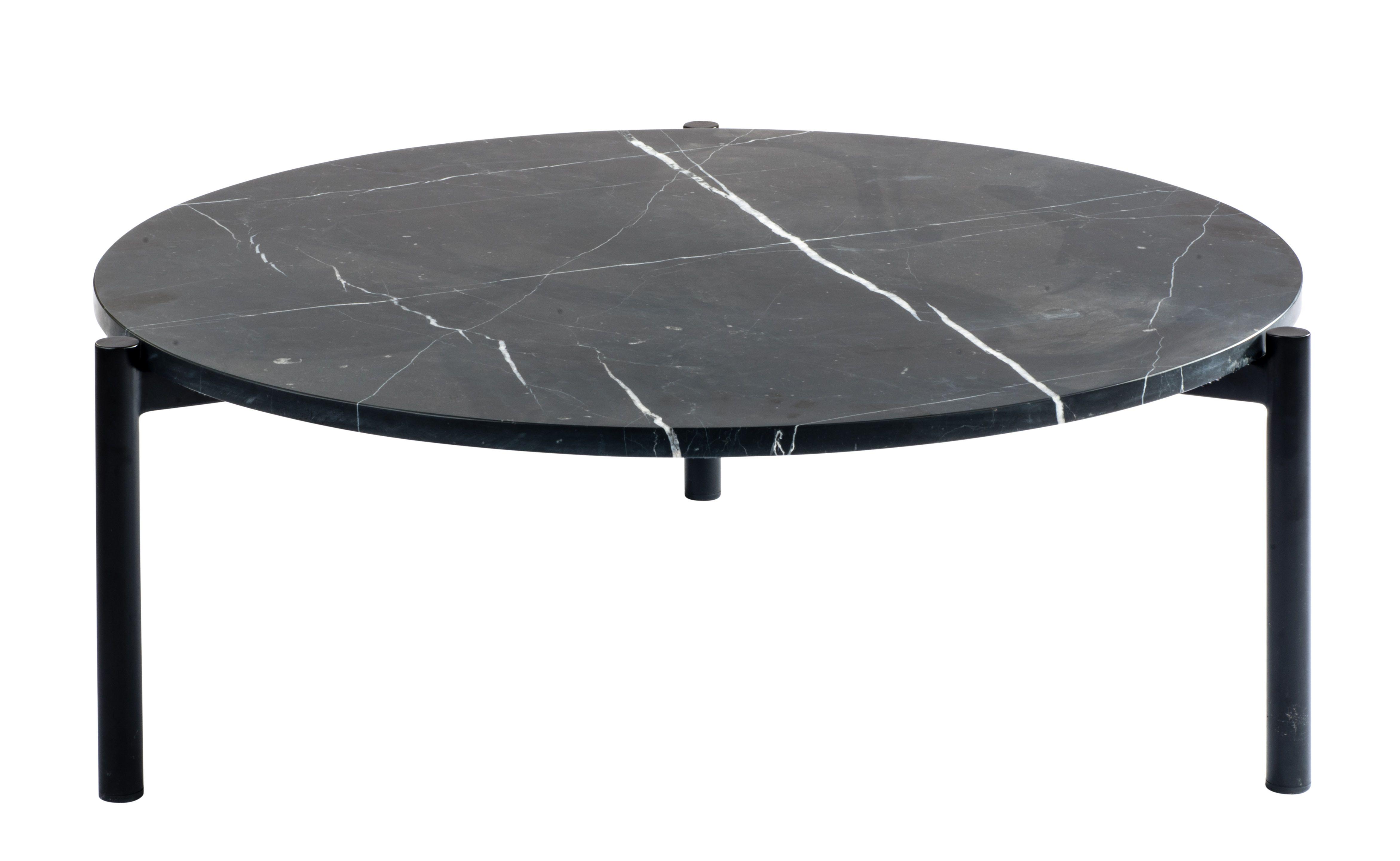 Salontafel Marmer Rond Zwart.Elegant In Zijn Eenvoud En Super Stijlvol Qua Design Dat Is
