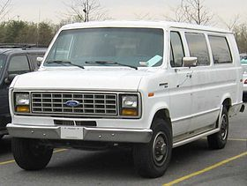 1978 Ford Club Wagon 15 Passenger The Old White Bus We Had A Lot