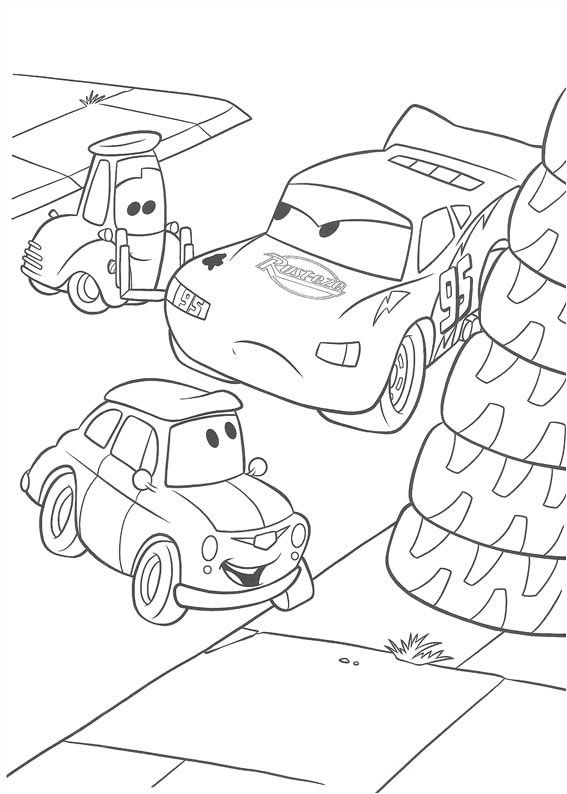 Disney Cars Printable Coloring Pages Cars Coloring Pages
