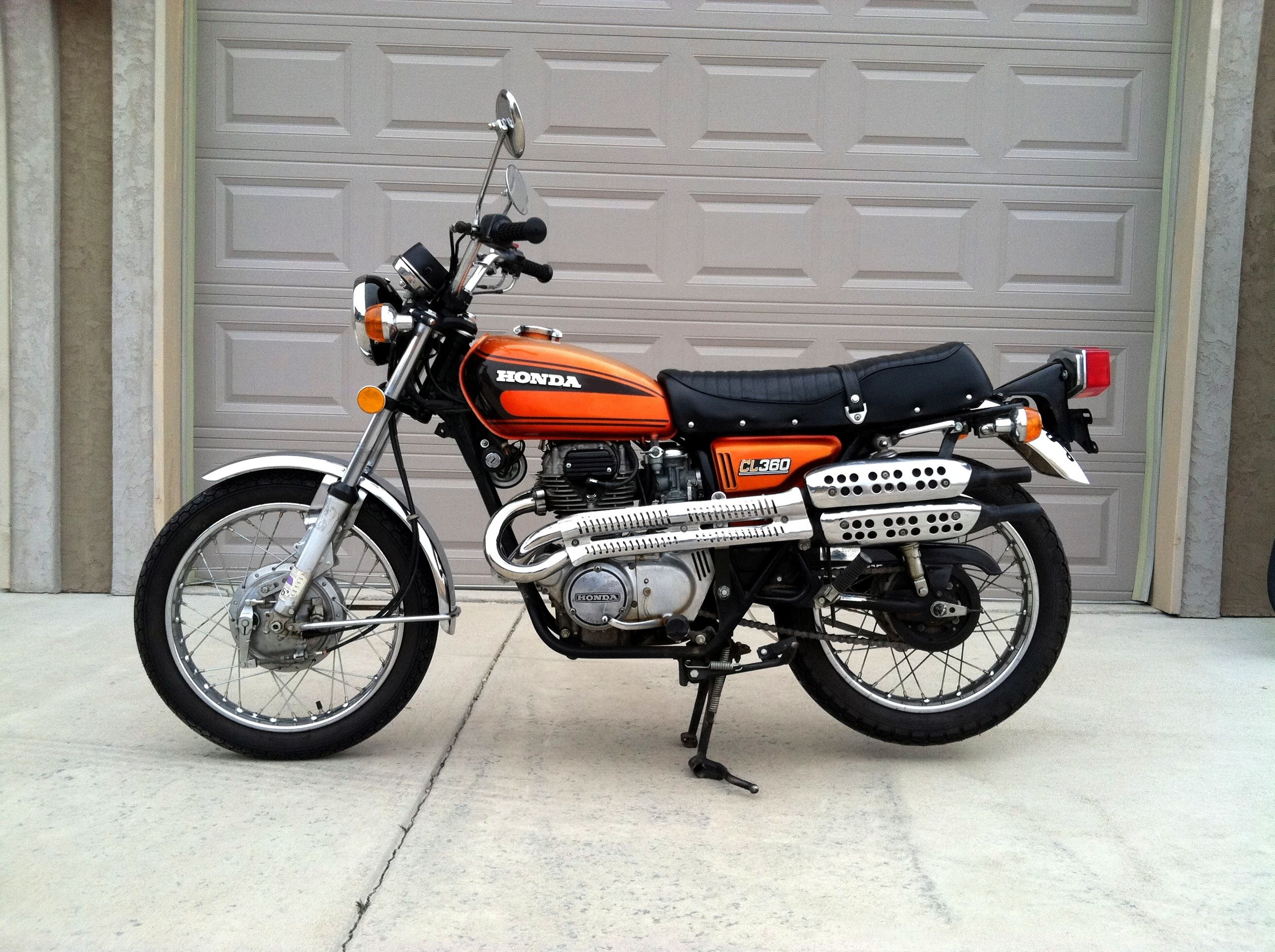 1975 Honda Cl360 K1 360cc With 6 Speed Transmission 81100 New Boy Ct 90 K 1 Wiring Diagram Did I Have Fun