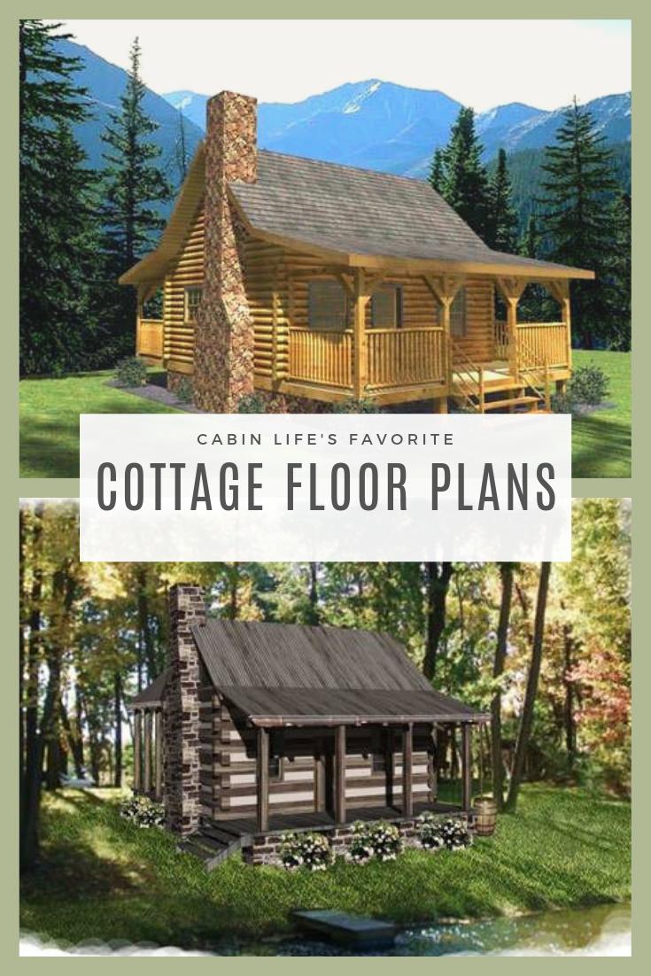 Cottage Floor Plans Cabin Floor Plans Small Log Cabin Plans Cottage Floor Plans