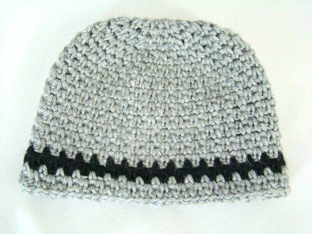 Free Crochet Pattern - Newborn Beanie #free #crochetpattern ...