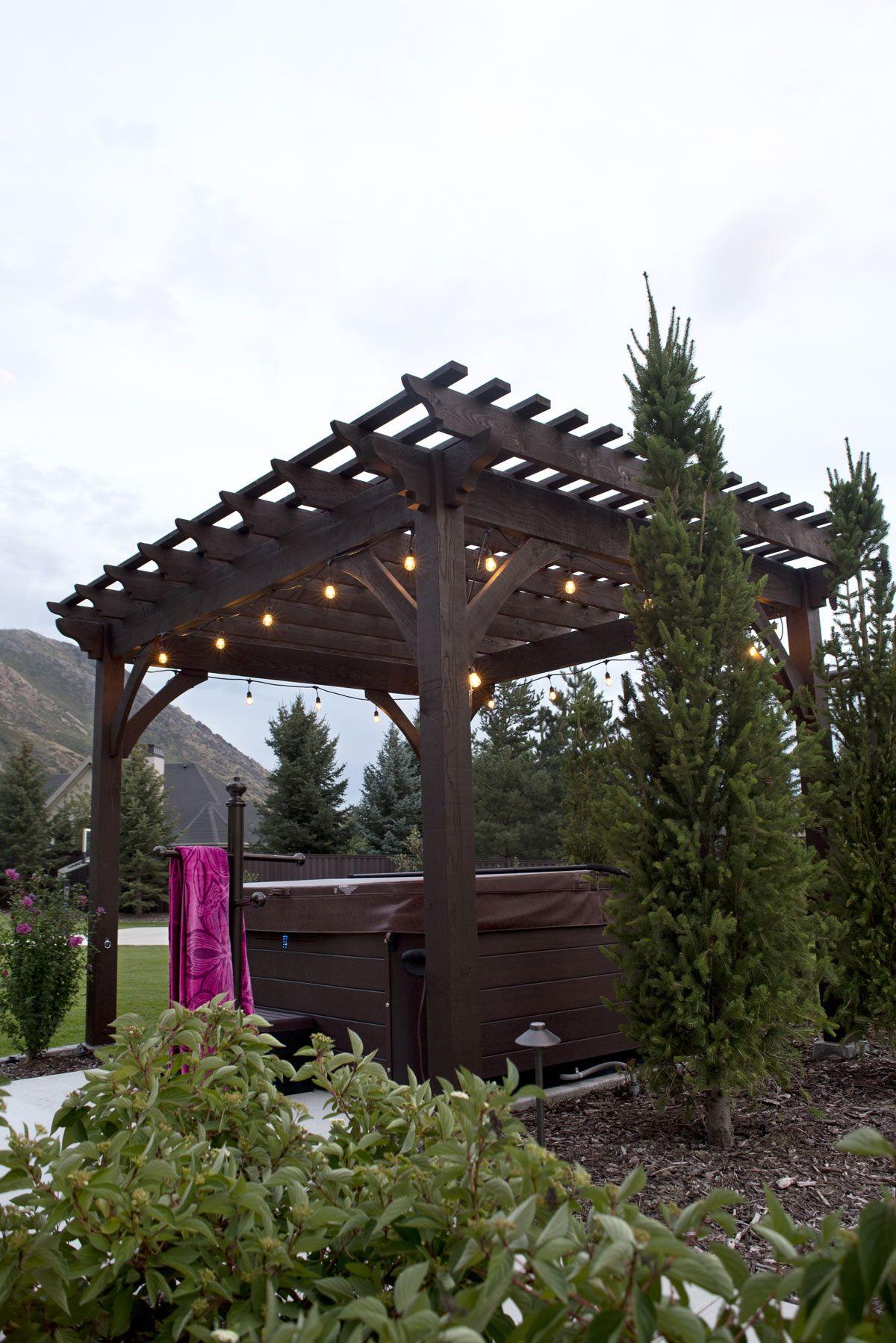 timber frame pergola kit - Timber Frame Pergola Kit Pergula Pinterest Pergola Kits