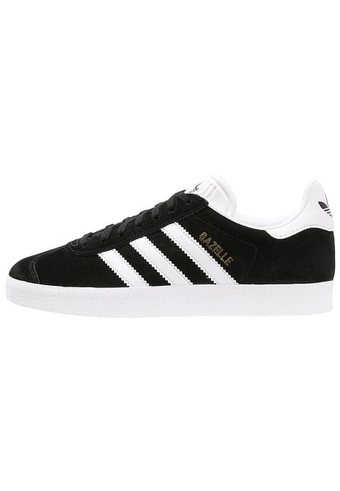 reputable site 5af2f d3757 adidas Originals GAZELLE - Zapatillas - core blackwhitegold metallic -  Zalando.es