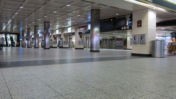 Empty Subway Stations In Ny