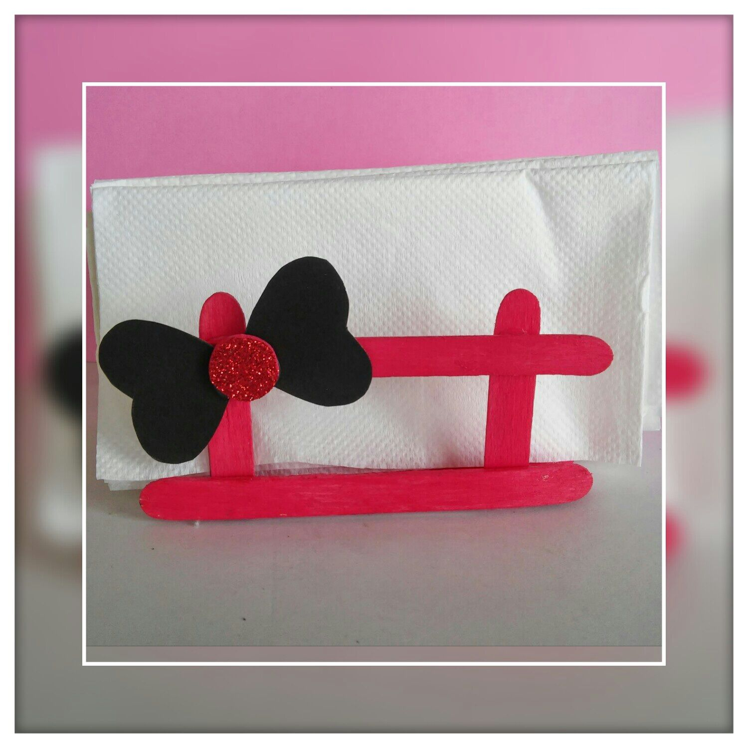 How To Make Napkin Holder Using Popsicle Sticks Quick And