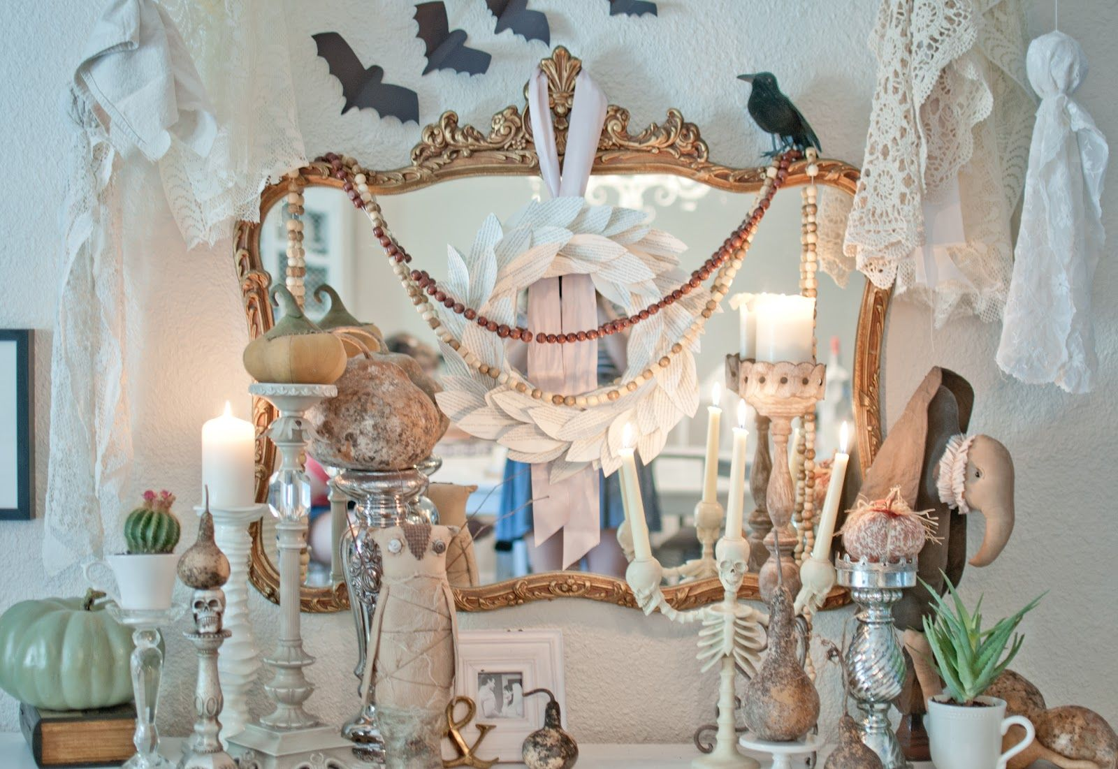 Spooky+Halloween+Decorations-1jpg 1,600×1,101 pixels Rustic - scary halloween decor