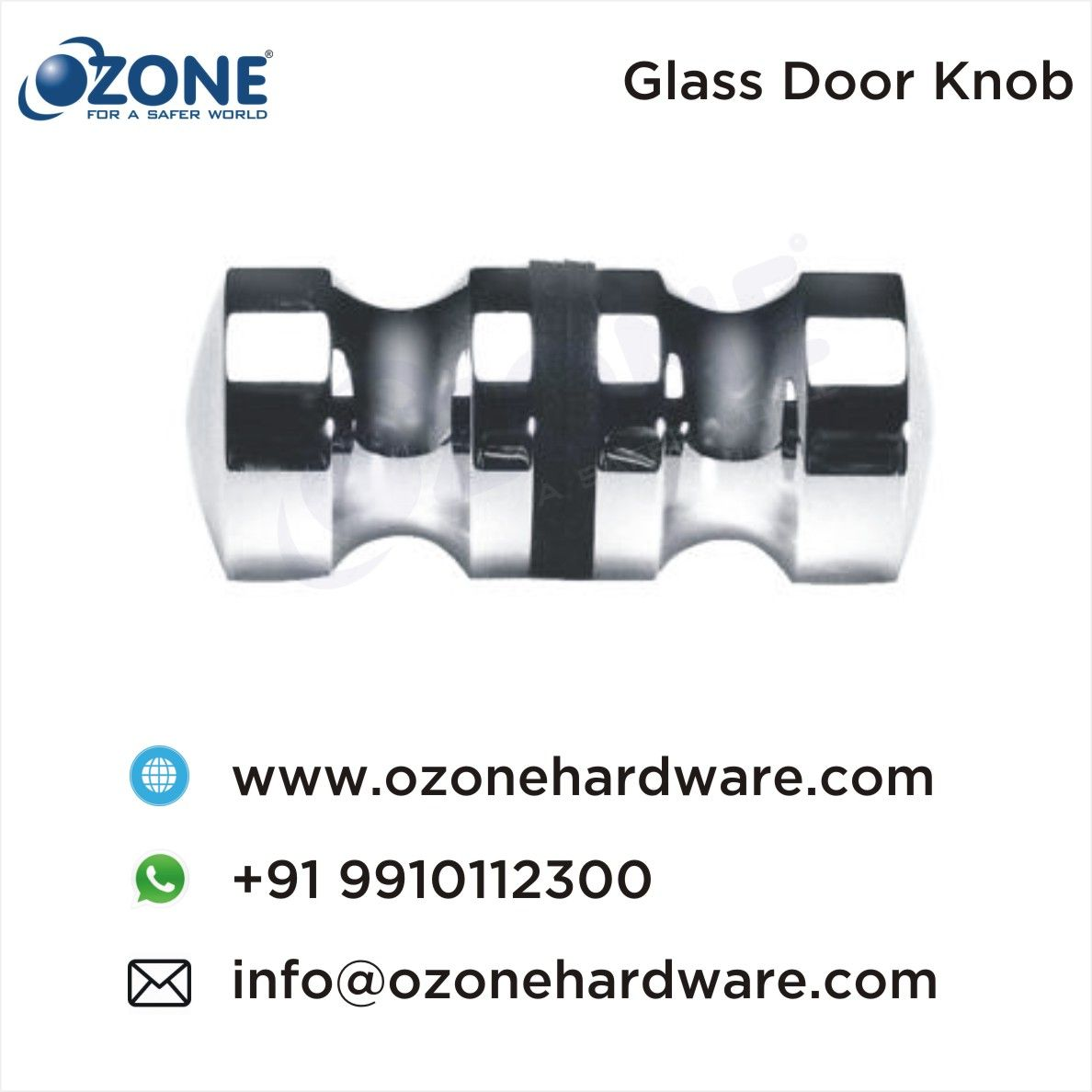 Meuble Salle De Bain Ozone ~ glass door knob door knobs shower cubicles accessories