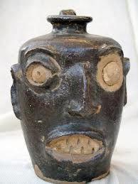 Face Jug by Reggie Meaders - intuitive eye