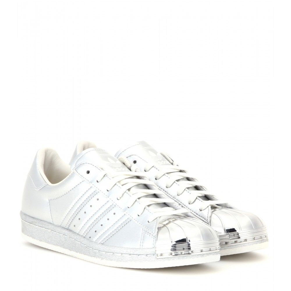Adidas Superstar 80s Metal Toe Sneakers in Silver   Lyst
