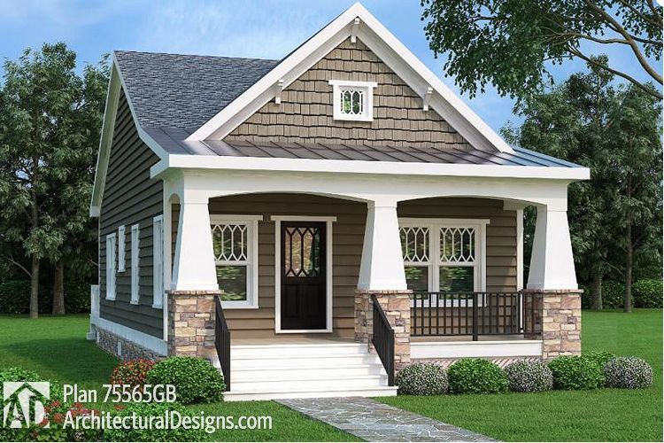Here S A Collection Of Craftsman Style Inspired Tiny Homes That Can Be Placed Bungalow Style House Plans Craftsman House Plans Bungalow Style