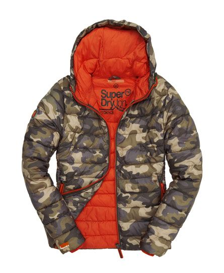 Superdry sweater uomo ORANGE LABEL URBAN Hood URBAN GREEN CAMO
