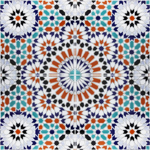Images Of Moorish Tile Design