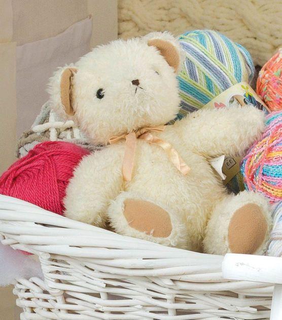 Adorable crocheted teddy bear for a baby!