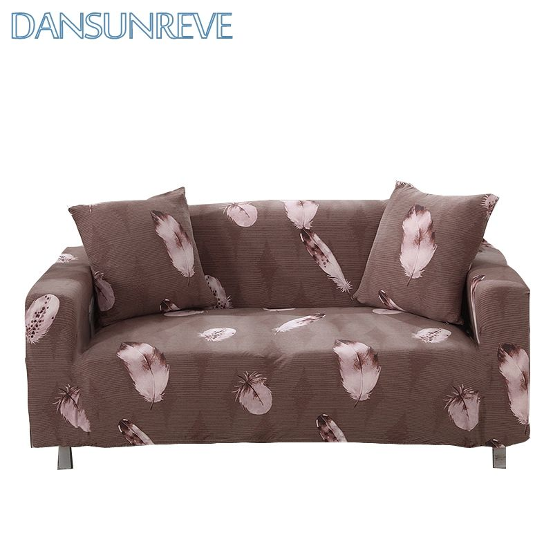 Feather Print L Shaped Sofa Cover Sectional Sofa Cover Stretch Sofa Cover For Living Room Cheap Corner Slipcovers Dahs Sofa Covers L Shaped Sofa Sectional Sofa