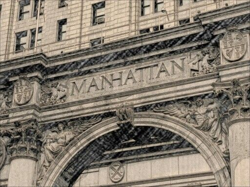 Manhattan. NYC by X