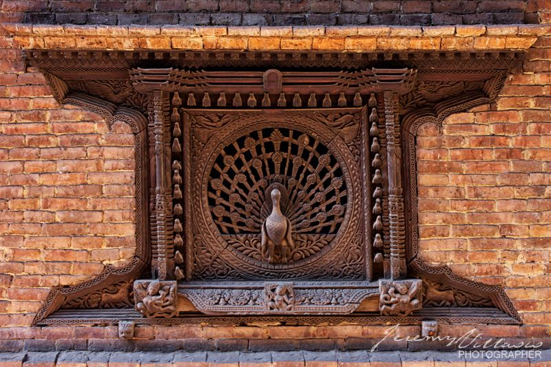 "https://flic.kr/p/fvgfFF | 365.228/ Bhaktapur's Peacock Window |  © 2013 Jeremy Villasis. All Rights Reserved.   Project 365/228. In a small alley just off Dattatraya Square is the perhaps the most famous window in the country. The intricate peacock window dates back to the early 15th century and is regarded as the ""Mona Lisa of Nepal"".   Bhaktapur, Nepal  Photo originally appears on ""Nepal: A Break Without A Trek"" on Cruising Magazine (August 2013) Philippines"