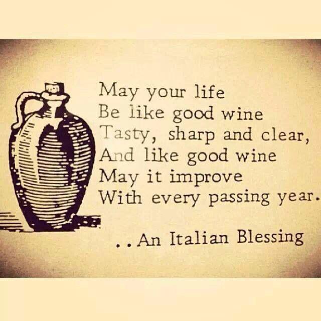 Italian blessing Italian proverbs, Italian quotes