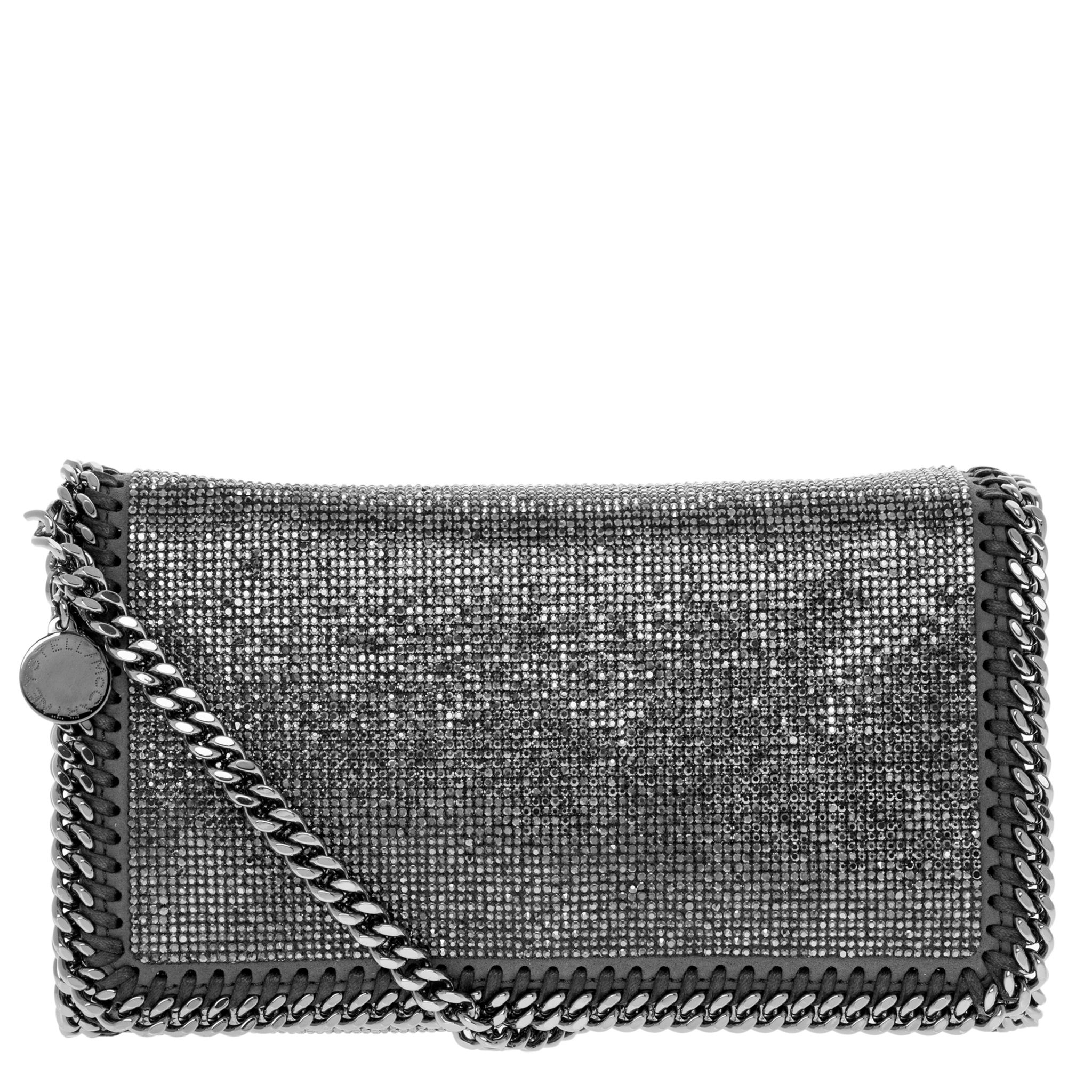 Stella McCartney Falabella Crystal Stones Chain Trim + Strap Crossbody Bag 38bd2cee30