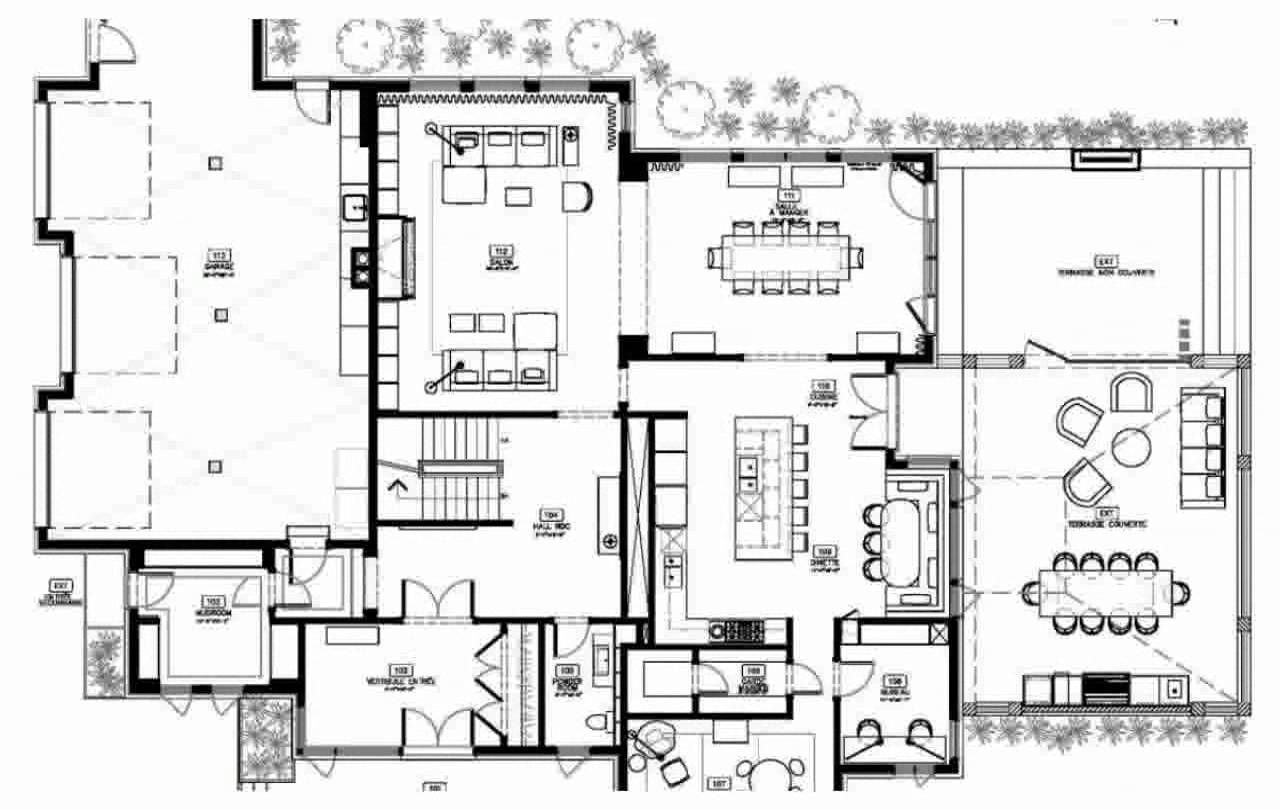 Modern house floor plans decoration youtube open plan designs