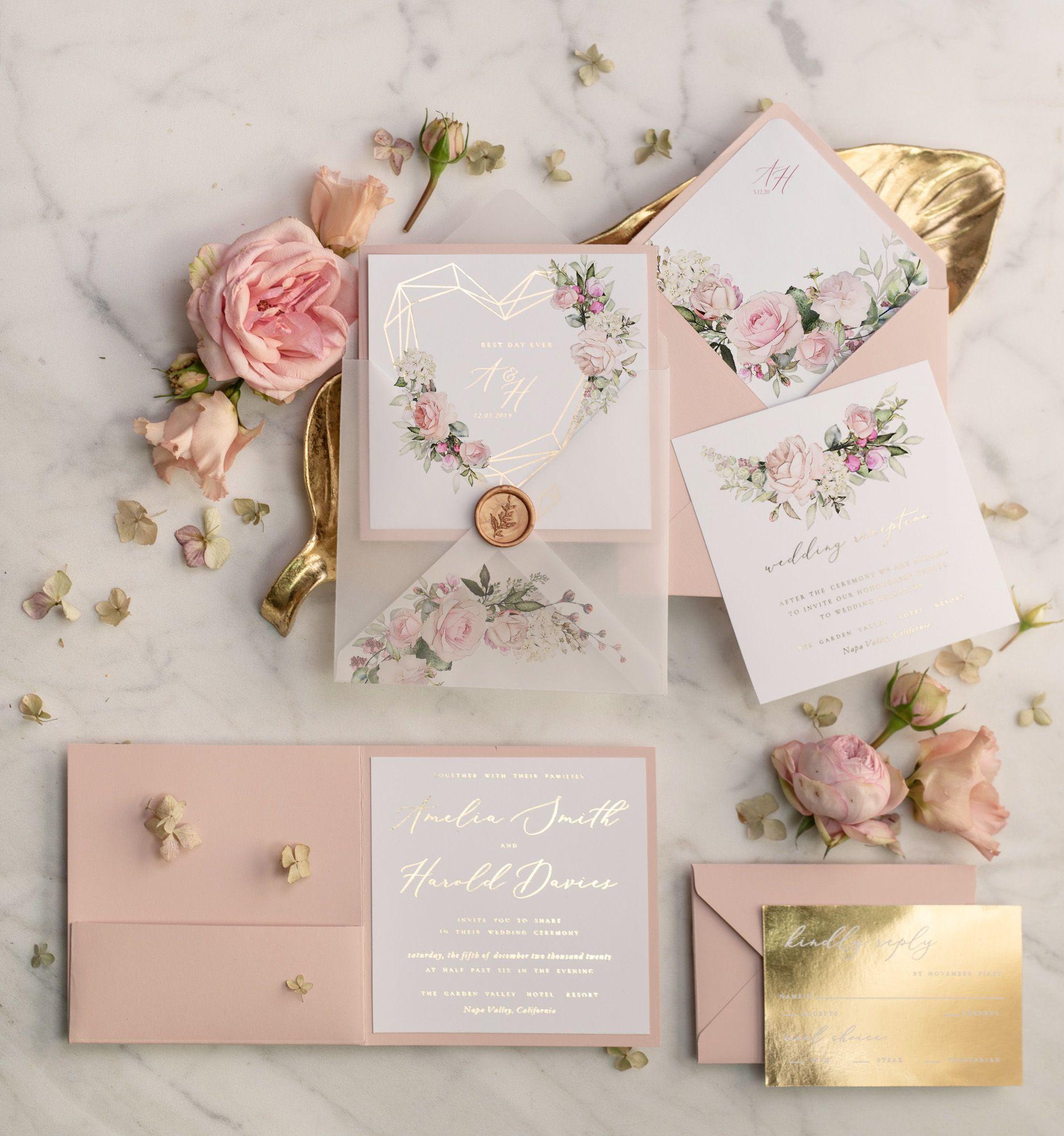 Wedding Invitations Gold Rose Gold Silver Glitter 3 Heartg Z Wedding Invitations Uk Cheap Wedding Invitations Affordable Wedding Invitations