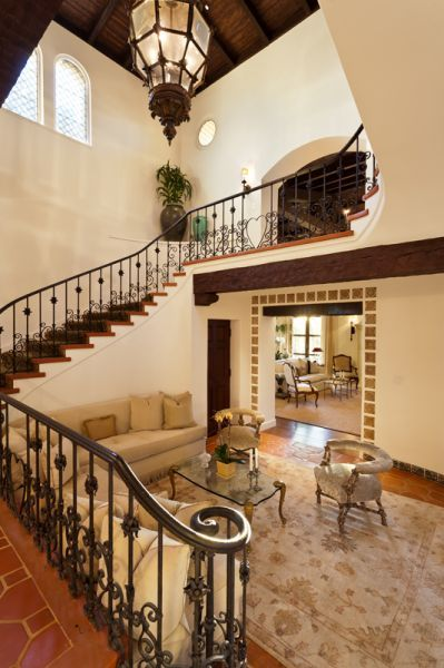 Bannister beverly hills mansion spanish colonial style revival beautiful homes also stairways to heaven houses house rh pinterest