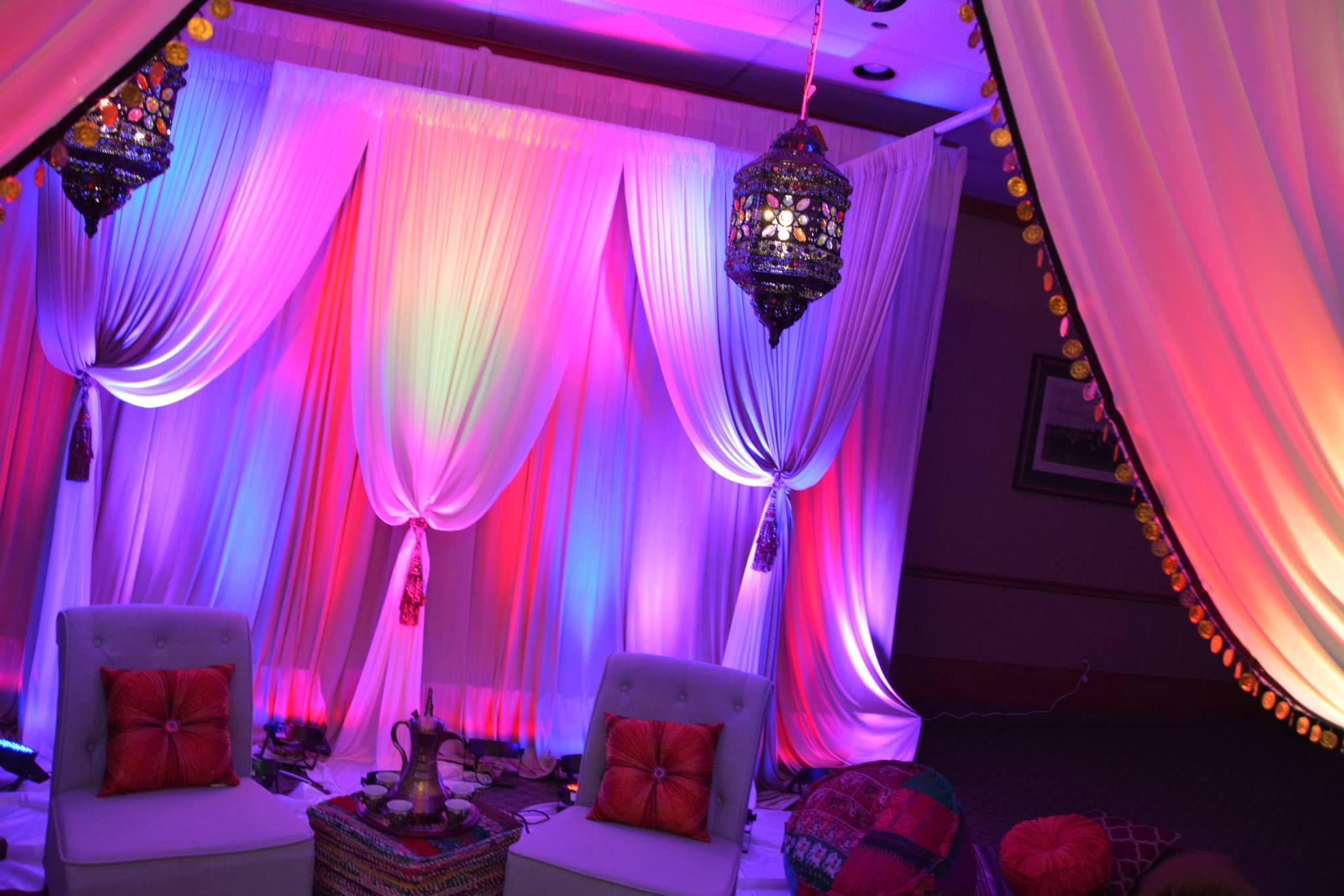 Stunning Middle Eastern Party Decor!