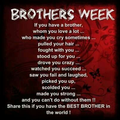 To Tommy To My Wonderful Brothers Pinterest Older Brother