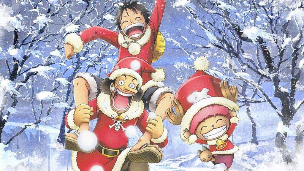My One Piece Christmas Wallpaper Anime Amino Incredible