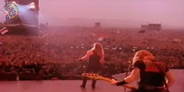 Around 1.6 million people gathered for Metallica's 1991 'Monsters of Rock'  concert in Moscow : ANormalDayInRussia