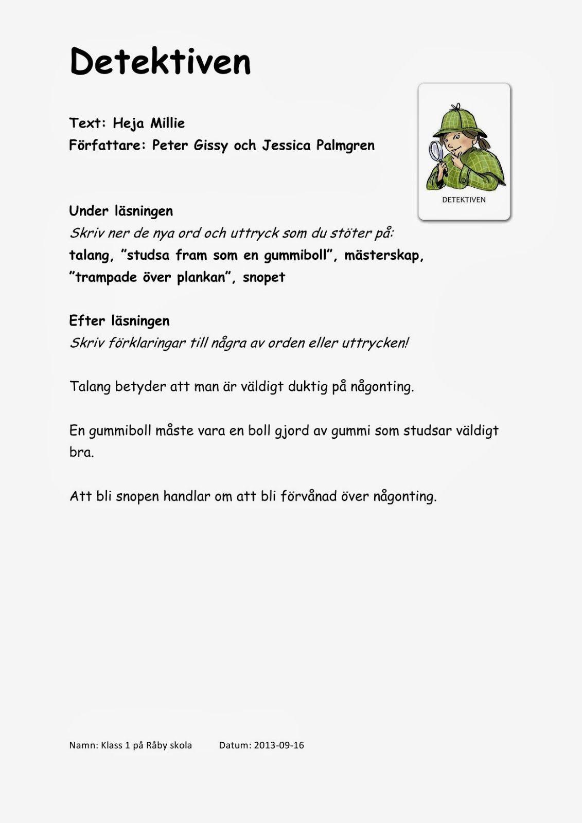 Mina digitala verktyg i läs- och skrivundervisningen: Våra läsloggar | Ruotsi | Skola,Klassrum ...