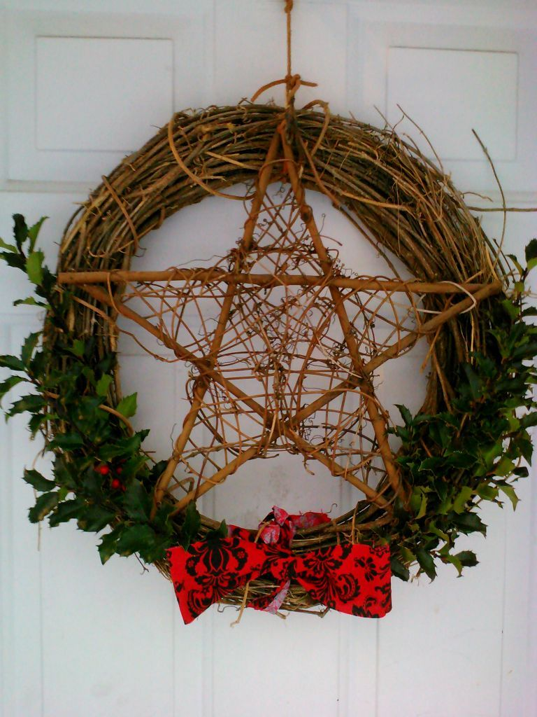 winter solstice craft ideas my yule wreath this year yule best 5741