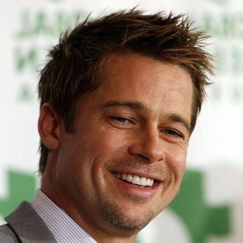 Brad Pitt Hairstyles   Eli   Mens haircuts thin hair, Brad ...