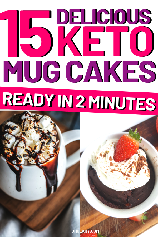 16 Keto Mug Cake Recipes That You Can Make In 5 Minutes Or ...
