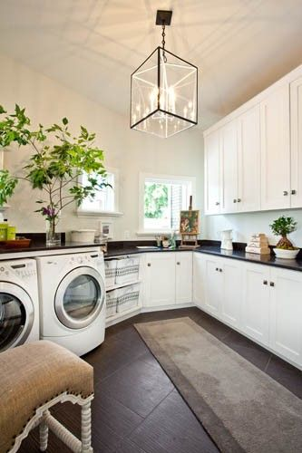 Laundry Room Lighting Beautiful With Images Modern Laundry