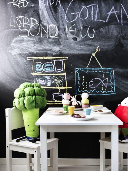 Sundvik Children S Table White 29 7 8x19 5 8 Ikea In 2020 Ikea Dining Room Kids Room Inspiration Childrens Table