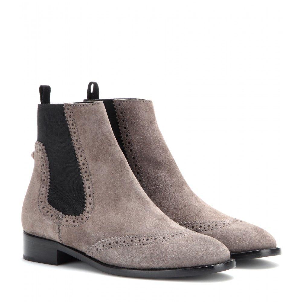 économiser f9846 12816 Balenciaga - Chelsea boots en daim - mytheresa.com ...