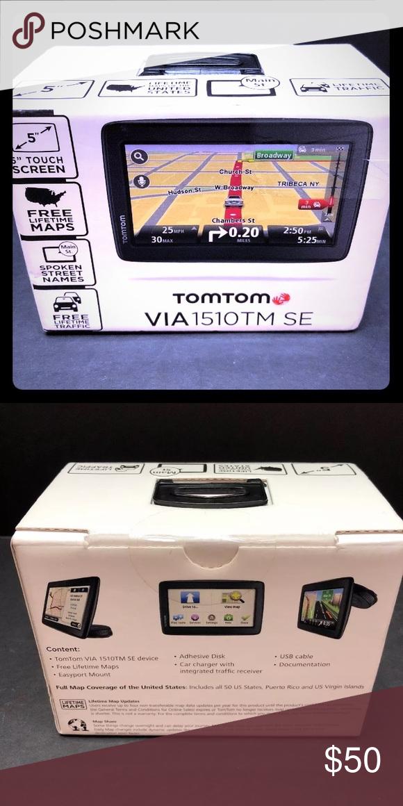 GPS Navigation - TomTom 1510TM SE w/ Lifetime Maps TomTom 1510TM SE