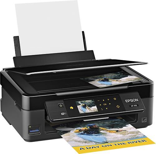 Epson Expression Home XP-410 Wireless All-in-One Printer $35 + Free Shipping (.Edu Email Required)