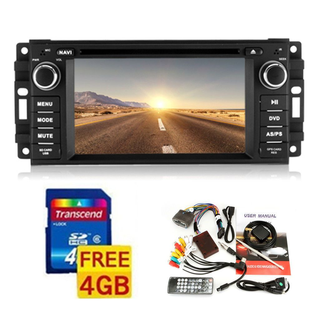 Details about Car Stereo Radio DVD Player GPS Navigation For