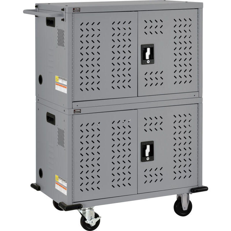 Computer Furniture Laptop Charging Carts Cabinets 32 Device Charging Cart For Chromebooks Laptops And I In 2020 Computer Furniture Locker Storage Laptop Storage