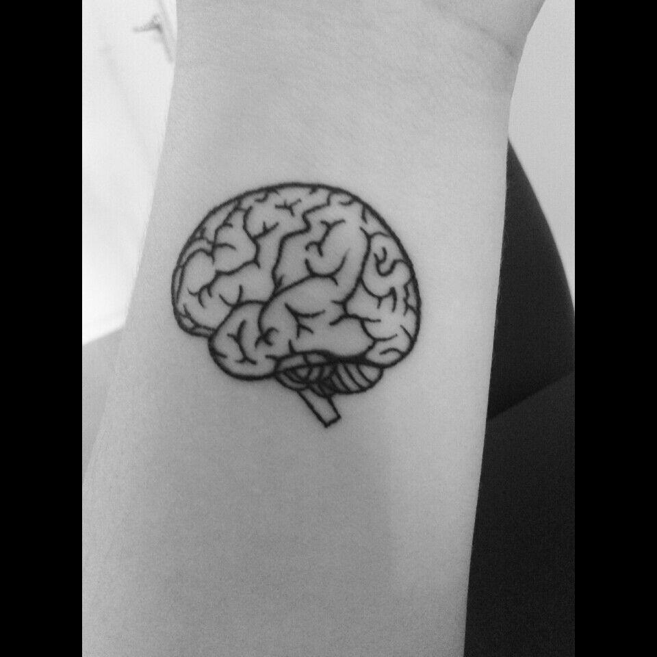 Brain Tattoo #brain #tattoo
