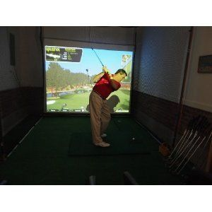 Golf Simulator Home Version With Optishot By Optishot
