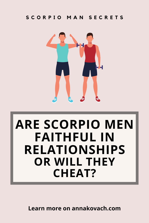 Scorpio woman cheating