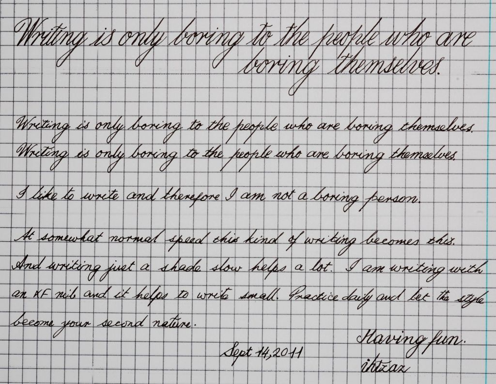 Copperplate Worksheet Fun With Handwriting Practice Page 5
