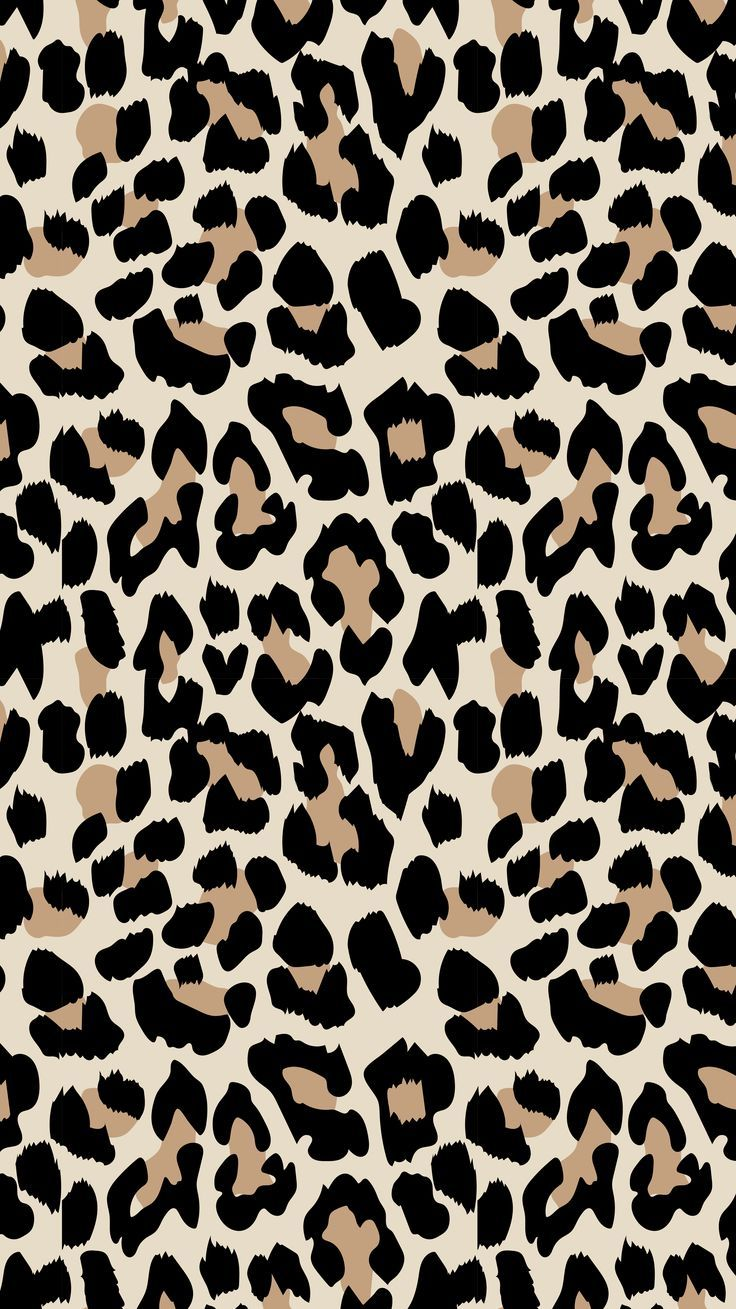 Leopard Print Pattern Inspiration Iphone background
