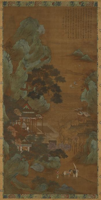 The Hall Of Scenic Beauty 17th Century Qiu Ying Chinese Ca
