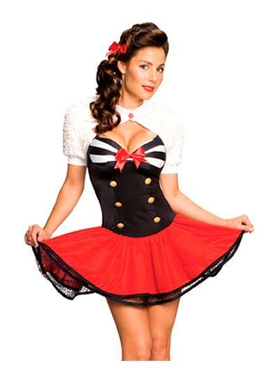 Sailor Captain,Sexy costume, Pin Up Halloween costume, womens sexy - halloween costume girl ideas