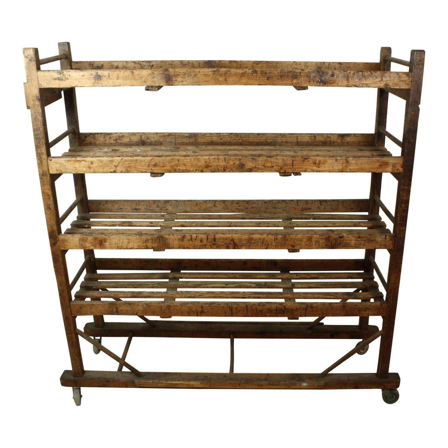 19th Century European Cobblers Shoe Drying Rack See More Antique And Modern Shelves At Https Www 1stdibs Com Furn Wooden Wine Rack Wooden Shoes Drying Rack